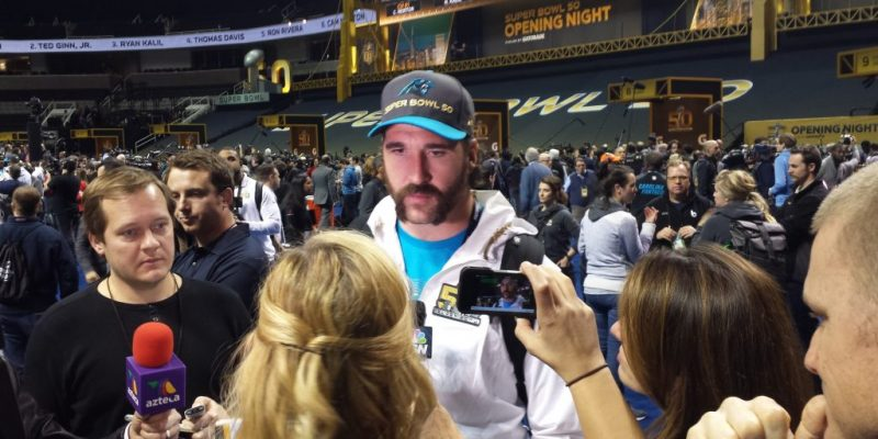 Panthers DE Jared Allen